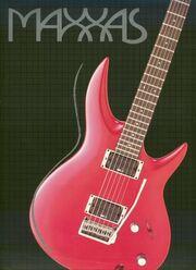 1988 Maxxas catalog front-cover