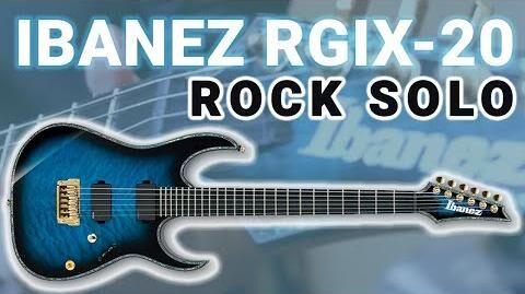 IBANEZ RGIX-20 (Rock Guitar Solo)