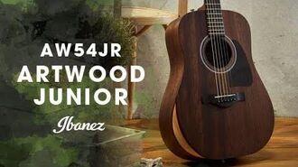 Ibanez Acoustic Artwood Junior - AW54JR