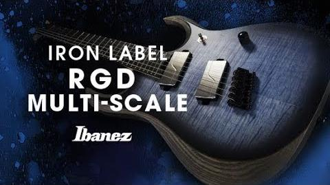 Ibanez Iron Label RGD Multi Scale - RGDIM6FM featuring Yusuke Hiraga
