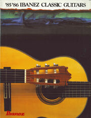 1985 Ibanez Classical Guitars front-cover