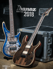 Ibanez 2018 New Gear catalog Consumer-front-cover