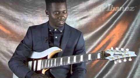 Tosin Abasi discusses his Ibanez TAM100 8-string signature guitar