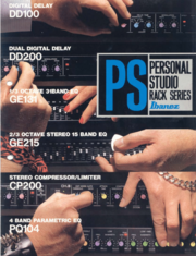 1987 Personal Studio rack series front-cover