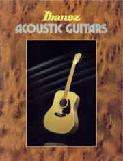 1980 Acoustic Guitars catalog front-cover