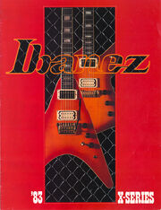 1983 X Series front-cover