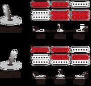 EH10 pickup switching