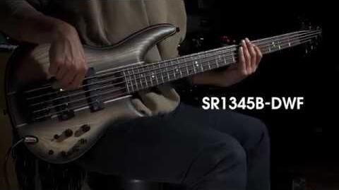 Ibanez Premium SR1345B Electric Bass