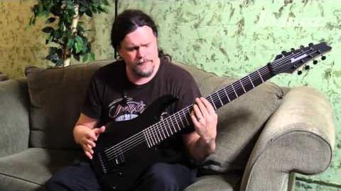 Marten Hagstrom on the Meshuggah M80M Ibanez 8-string signature model