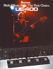 1980 UE400 dealer sheet