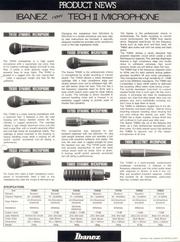 1985 Tech II Microphones