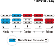 HS neck pickup simulator