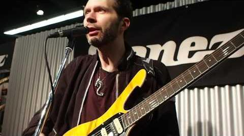 NAMM 2014 - Paul Gilbert unveils Ibanez FRM250MF, discusses its design evolution