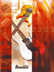 2003 GIO Ibanez Asia-South America catalog cover