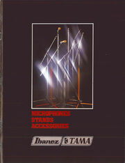 1981 Microphnes Stands Accesories front-cover