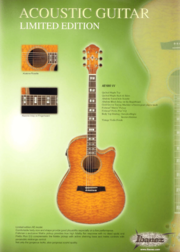 2003 Europe acoustic guitar limited editions p1