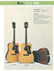 1976 Ibanez-York dealer sheet front