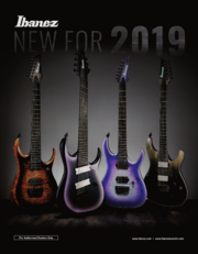 Ibanez 2019 New Gear catalog Consumer-front-cover