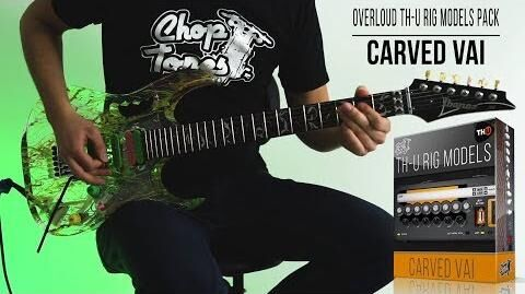 Overloud TH-U Rig Models Carved Vai Rock Demo (Carvin Legacy Steve Vai VL100 JEM 20th)