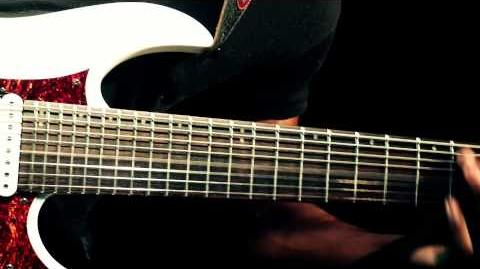 """Tosin Abasi Performs """"The Woven Web"""" on his Ibanez TAM10"""