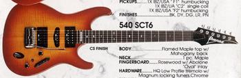 1990 540S-CT6 CS