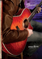 2006 USA acoustics catalog front-cover