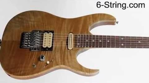 Ibanez USA 1991 Endorsed Artist Custom Shop Electric Guitar Rare