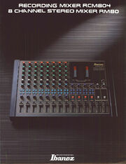 1986 Mixers front-cover