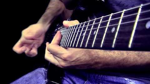 "In the style of Joe Satriani - ""Satching"" (Dallton Santos)"