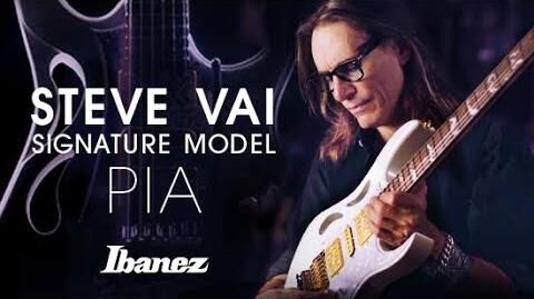 Steve Vai introduces the Ibanez PIA signature model