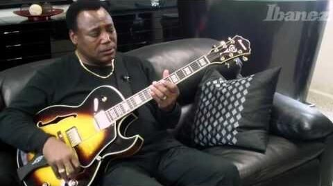 George Benson on his new Ibanez LGB30 signature model