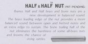 Half and half nut-description