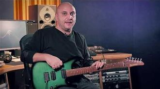 Marco Sfogli on his Ibanez MSM100 signature guitar