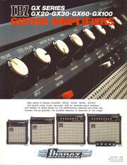 1981 IBZ GX Series front