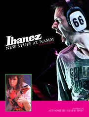 2009 Winter NAMM catalog front-cover
