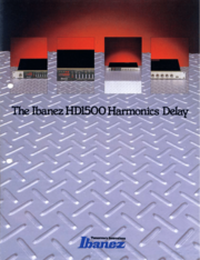 1984 HD1500 Harmonics Delay German front-cover