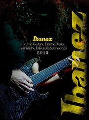 2010 NA elec guitar catalog front-cover