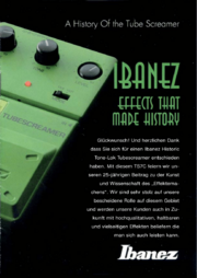 A History of the Tube Screamer-German-front-cover