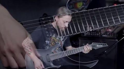 Francesco Artusato demos the Ibanez Iron Label RGAIX7FM