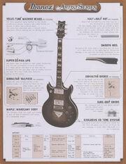 1978 Artist series dealer sheet