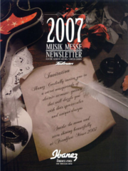 2007 MusikMesse newsletter front-cover