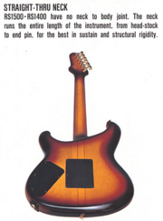 RS1400-1500 neck-through