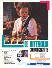 1985 Lee Ritenour Leaflet