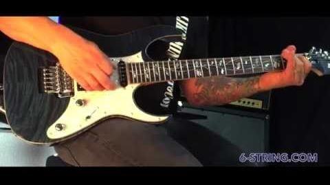 Ibanez J Custom RG8540 Demo by Greg Marra
