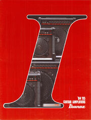 1984 Guitar Amplifiers front-cover