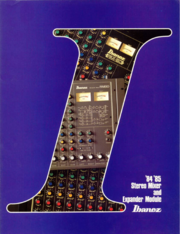 1984-85 Stereo Mixer front-cover