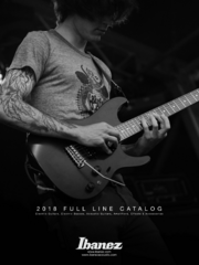 2018 Ibanez USA Fullline Catalog Consumer front-cover