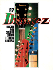 1982 Blazer-Studio Electric Guitars front-cover