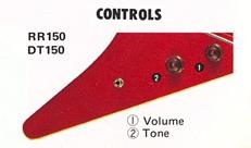 RR150-DT150 controls