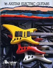 1985 Axstar catalog 1 cover